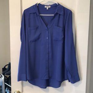 Express Portofino shirt Large lavender
